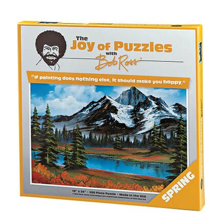 Joy of Puzzles with Bob Ross Spring 500 pieces-364221