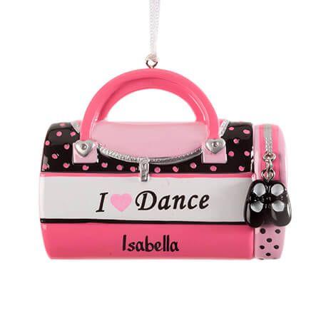 """Personalized """"I Love Dance"""" Ornament-364414"""