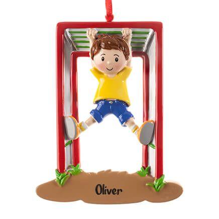 Personalized Monkey Bars Ornament-364425