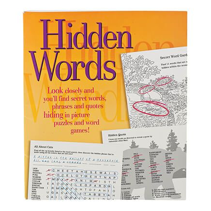 Hidden Words Puzzle Book-364518
