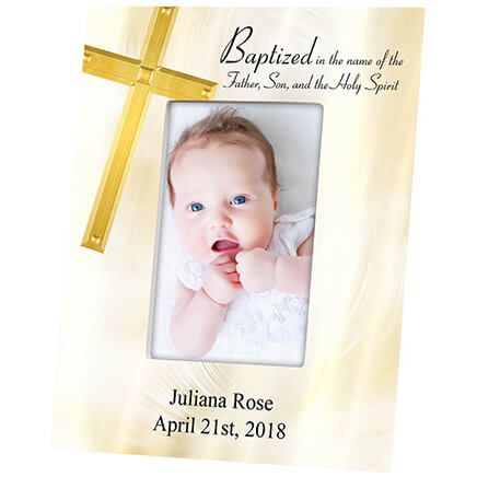 Personalized Baptism Photo Frame-364634