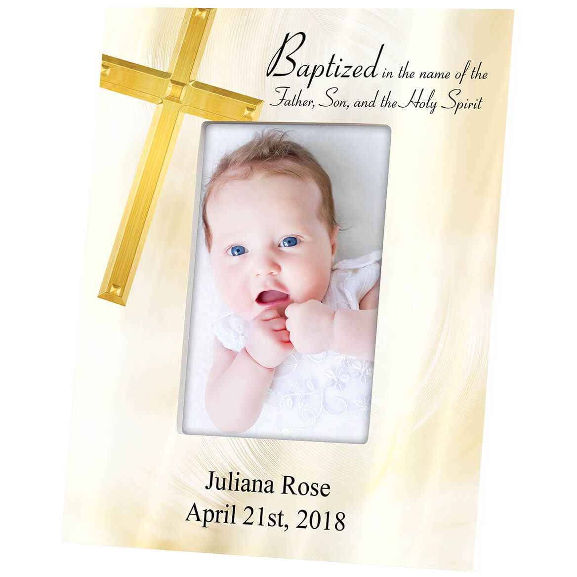 Personalized Baptism Frame-364634