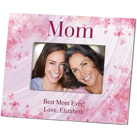 Personalized Mom Flowers 'a Flutter Photo Frame-364637