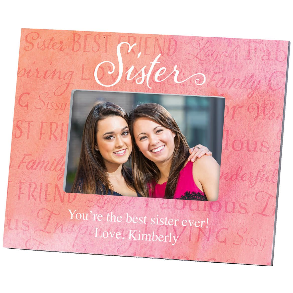 Personalized Sister Word Art Frame-364642