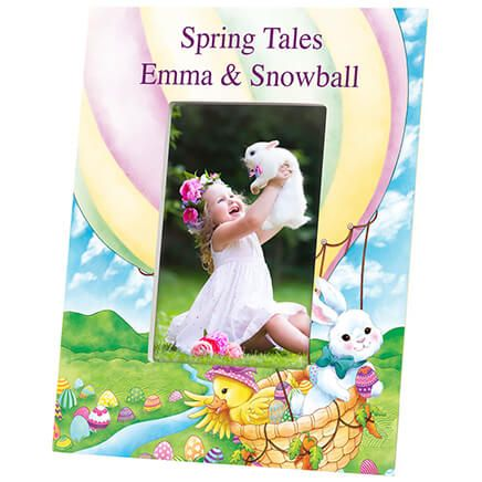 Personalized Spring Tales Photo Frame-364647