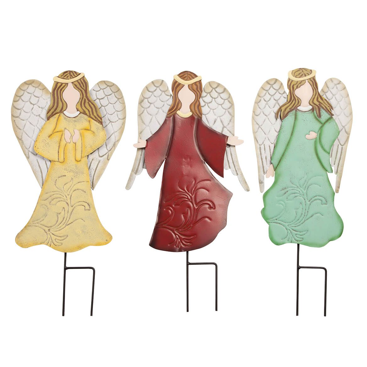 Metal Angel Stakes by Fox River™ Creations, Set of 3-364680
