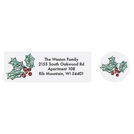Personalized Paper Filigree Address Labels & Seals 20-364727