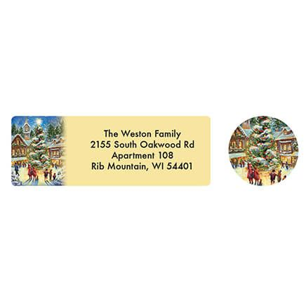 Personalized Christmastime Address Labels & Seals 20-364731