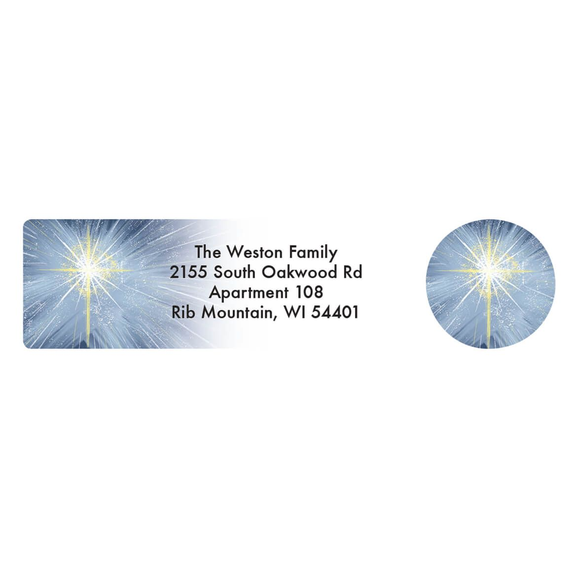 Personalized Heaven's Gift Address Labels & Envelope Seals 20-364753