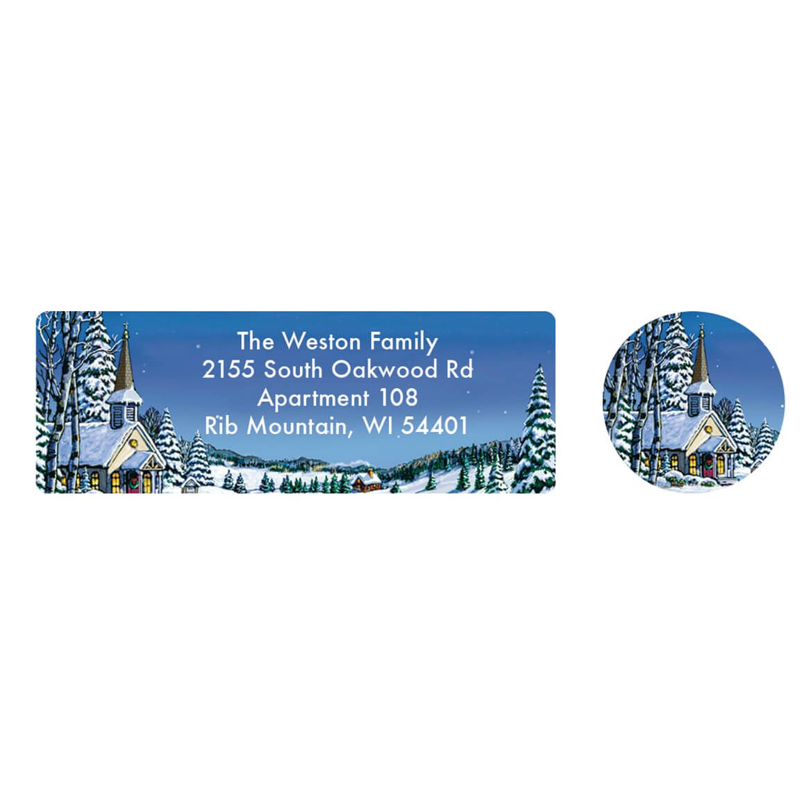 Personalized Remembering You Address Labels & Envelope Seal 20-364757