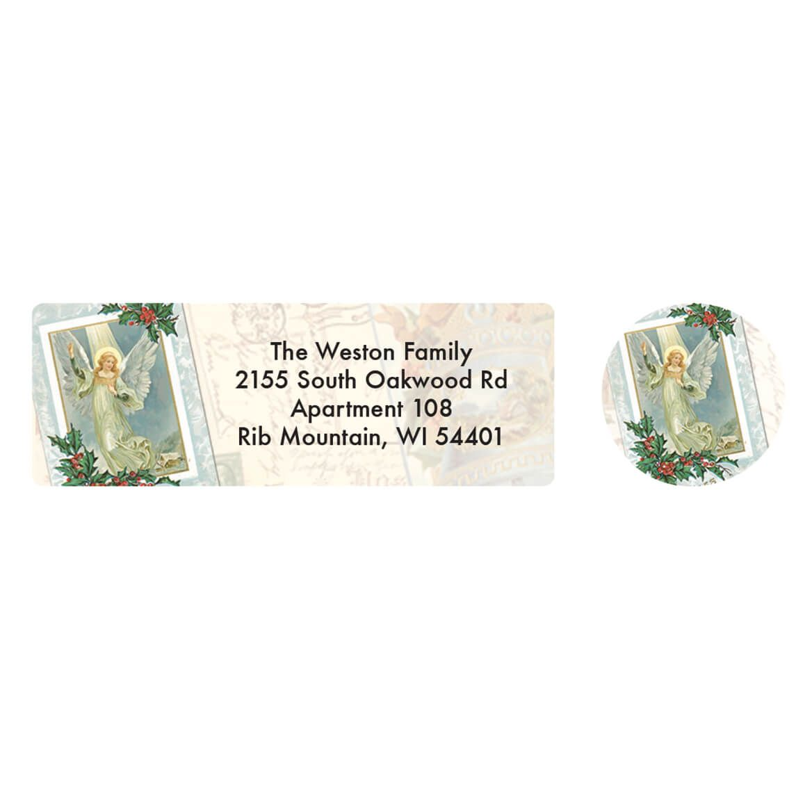 Personalized The More I Love Christmas Labels & Seal 20-364758