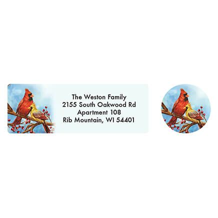 Personalized Songbird Calendar Address Labels & Seals 20-364763