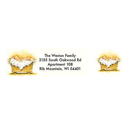 Personalized Christmas Certificate Address Labels & Seals 20-364780