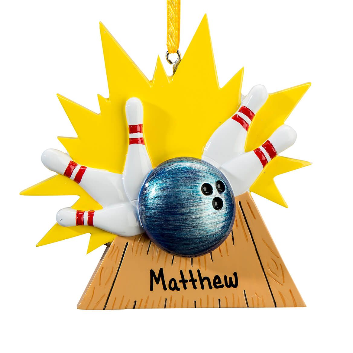 Personalized Bowling Ornament-364910