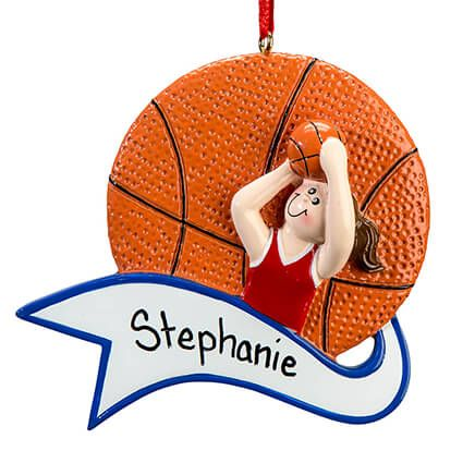 Personalized Basketball Ornament-364916