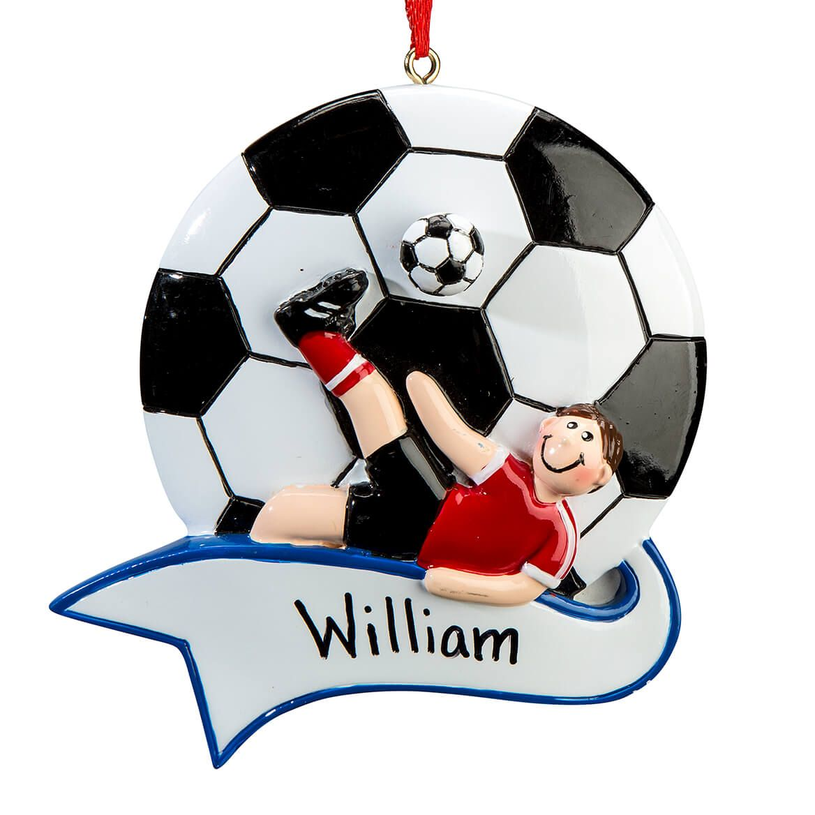 Personalized Soccer Ornament-364917