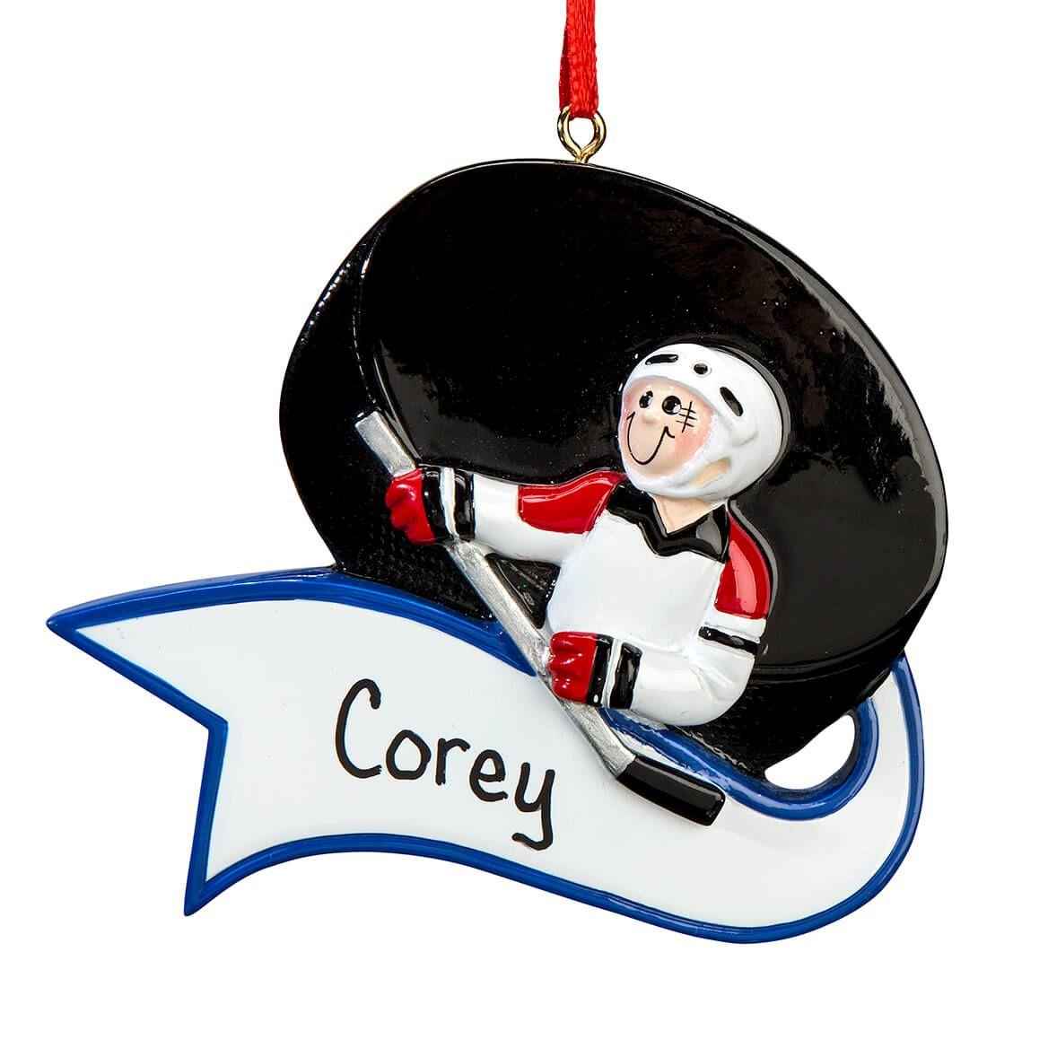Personalized Hockey Ornament-364921