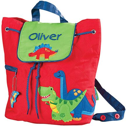 Personalized Stephen Joseph® Dinosaur Quilted Backpack-365389