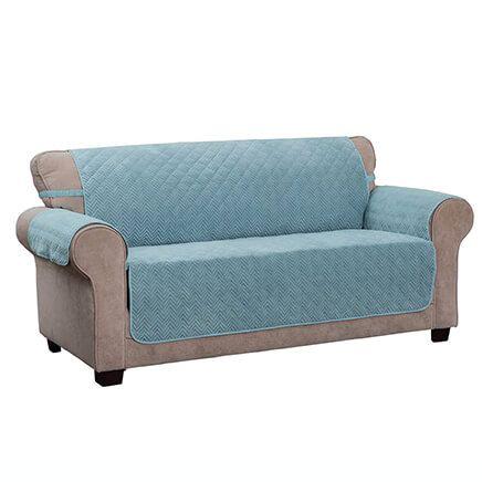 Chevron Sofa Protector-365449