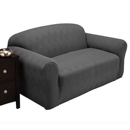 Optic Sofa Stretch Slipcover-365481