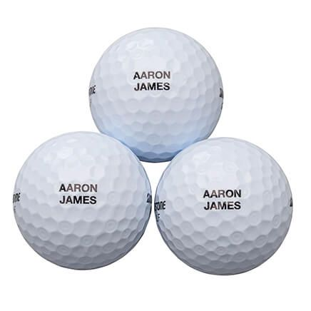 Personalized Bridgestone 3 Golf Balls Sleeve-365572
