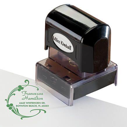 Personalized Berries & Swirls Stamper-365606