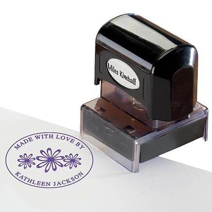 "Personalized ""Made With Love"" Stamper-365607"