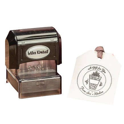 """Personalized """"A Gift for You"""" Stamper-365618"""
