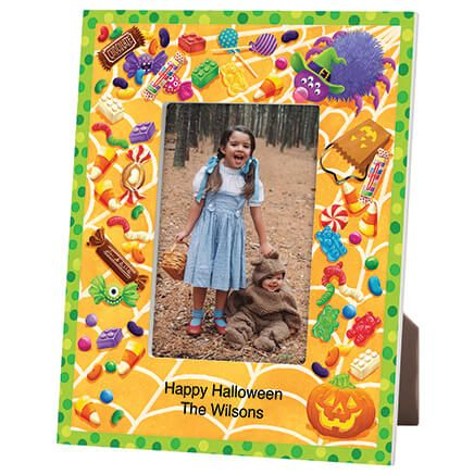 Personalized Halloween Goodies Decorative Photo Frame-365635