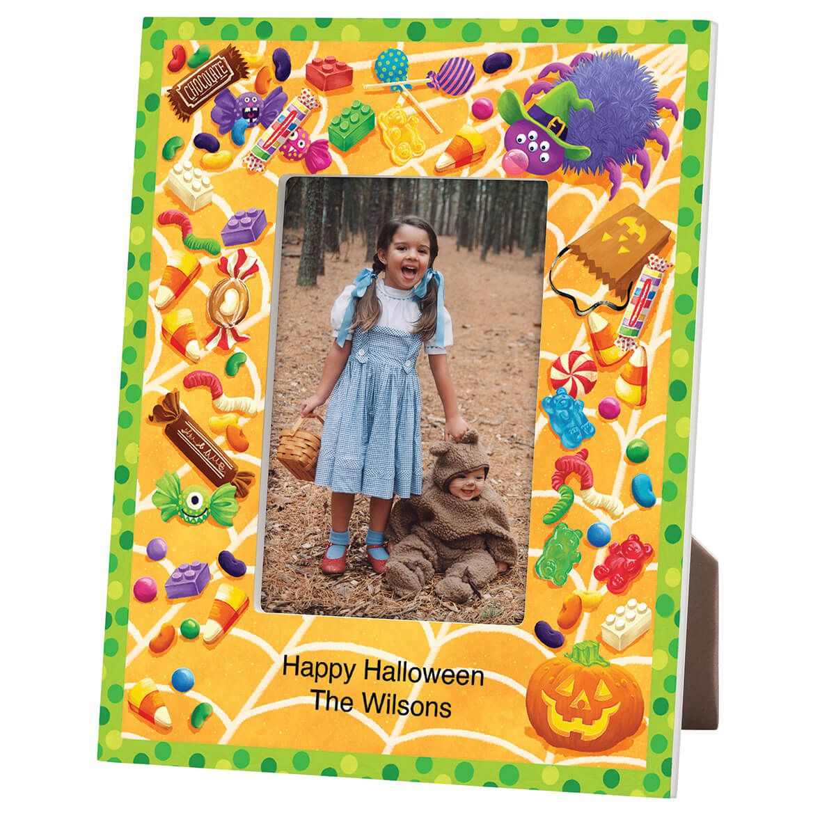 Personalized Halloween Goodies Frame-365635