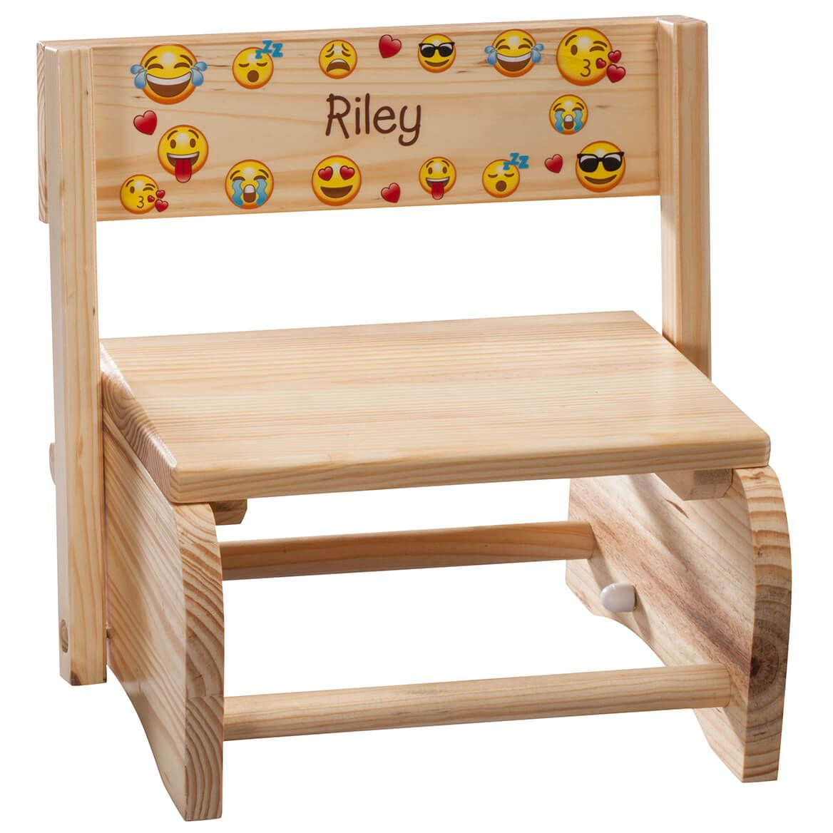 Personalized Children's Emoji Step Stool-365664