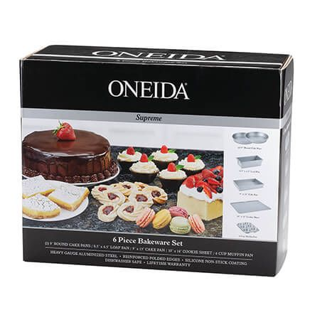 Oneida Supreme 6 Piece Bakeware Set-365811