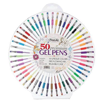 Premium Gel Pens Set/50-365834