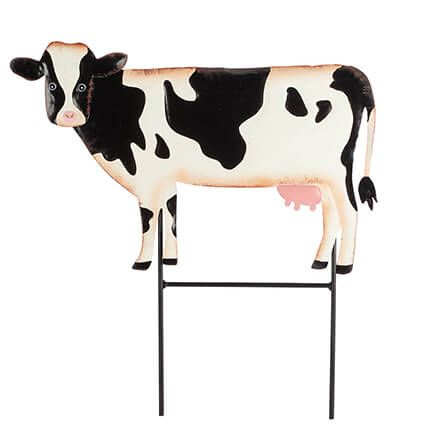 Metal Cow Lawn Stake by Fox River™ Creations-365941