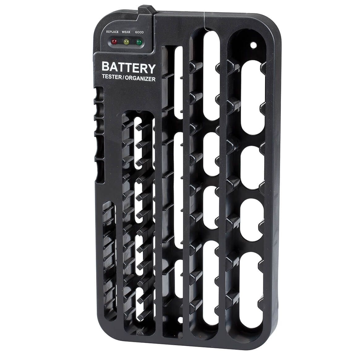 Wall Mount Battery Tester and Organizer-365959