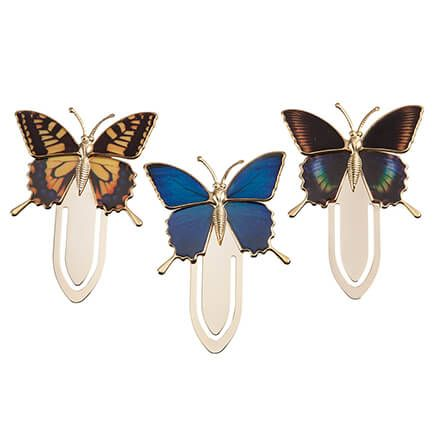 Butterfly Bookmarks, Set of 3-366061