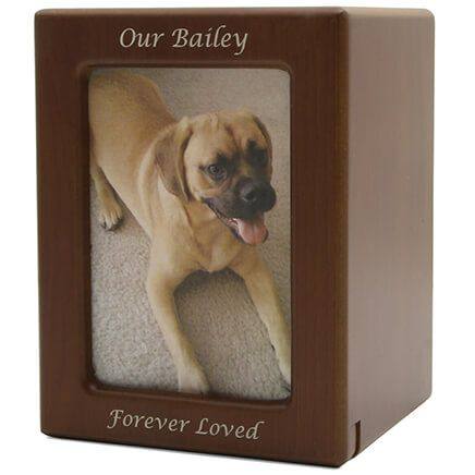 Personalized Photo Frame Pet Urn-366098