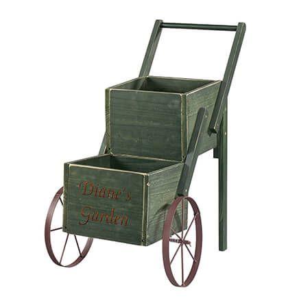 Personalized 2-Tier Garden Trolley-366288