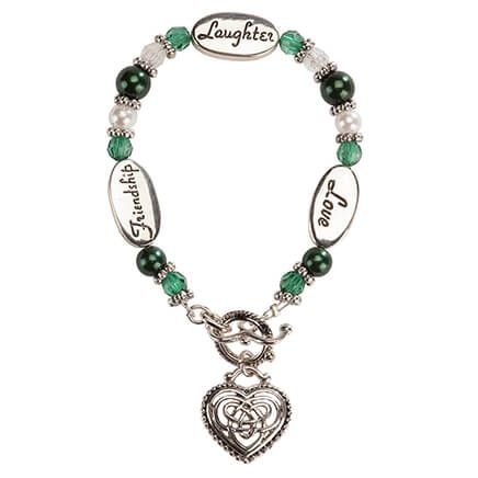 Expressively Yours ™ Irish Celtic Heart Bracelet-366317