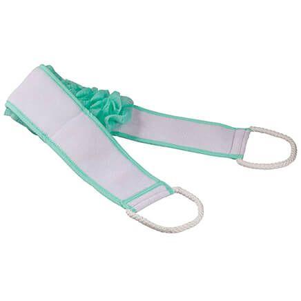 Bath Pouf Belt with Handles-366428