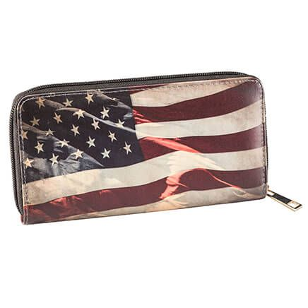 Designer Wallet Americana Flag-366613