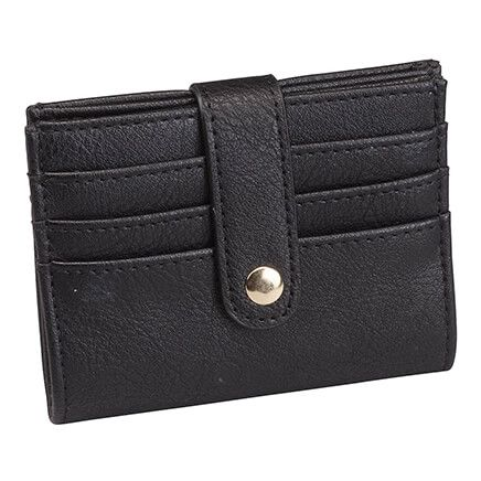 RFID Snap Closure Credit Card Wallet-366697