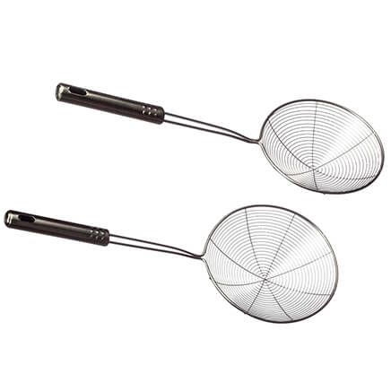 Stainless Steel Pro Strainers by Home Marketplace™, Set of 2-366719