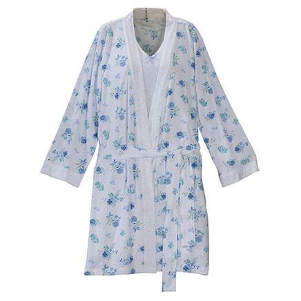 Enchanted Polka Dot Robe/Chemise Set by Sawyer Creek-366750