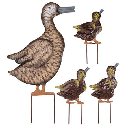 Metal Duck Family, Set of 4 by Fox River™ Creations-367005