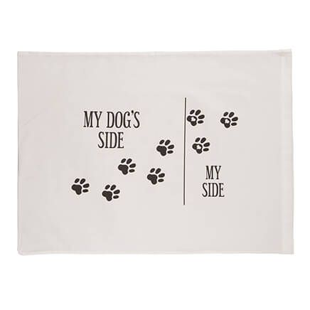 Dog's Side Pillowcase-367395