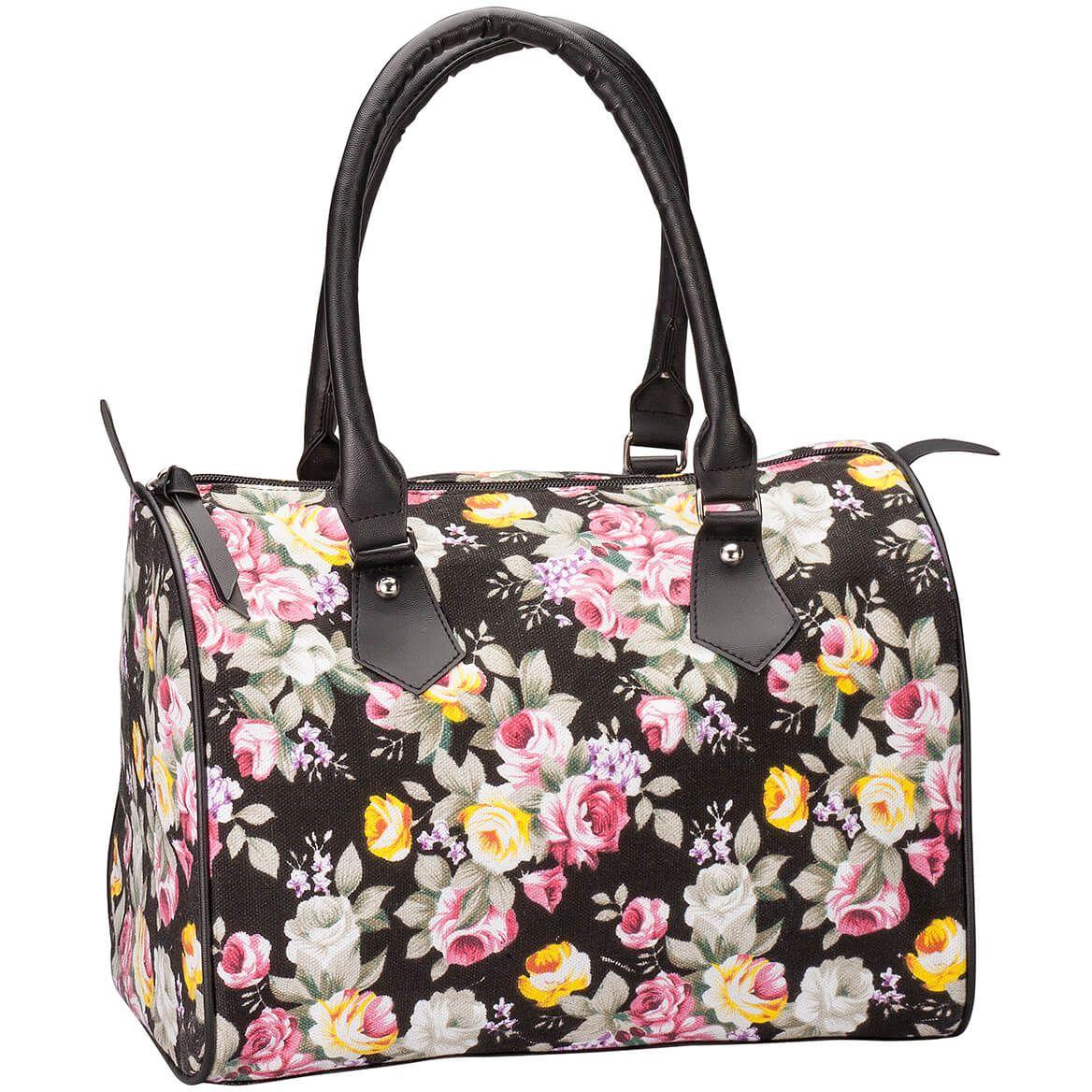 Vintage Rose Cloth Handbag-367481