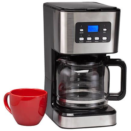 12-Cup Programmable Coffee Maker-367504