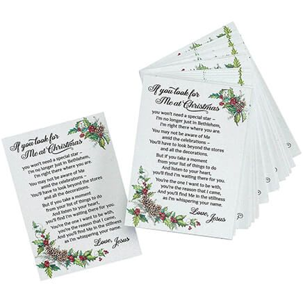 """If You Look For Me at Christmas"" Pocket Cards-367557"