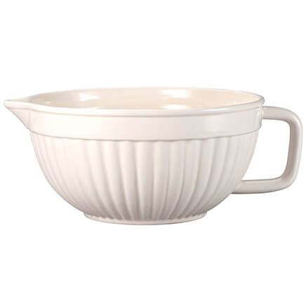 Large Creamware All Purpose Batter Bowl-367744